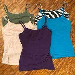 Bundle of 5 EXPRESS Stretch Bra Camis